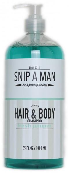 Hair & Body Shampoo fresh juniper
