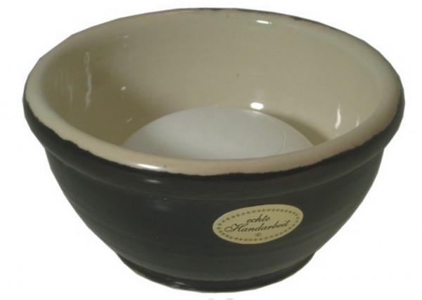 Keramik Rasierschale - schwarz