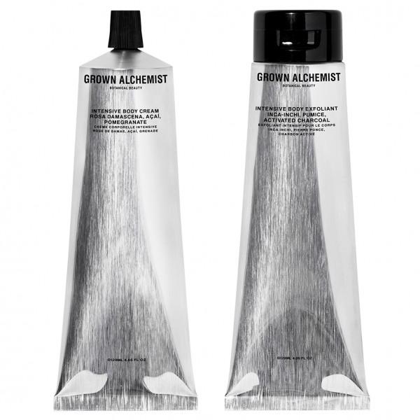 Silver Kit Intesive Body Exfoliant + Intensive Body Cream