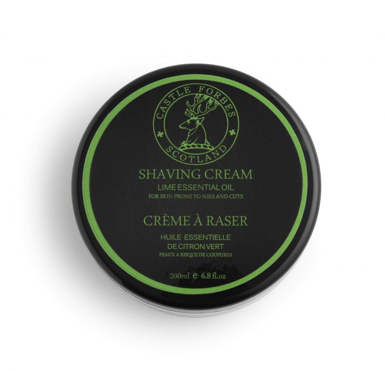 Castle Forbes - Shaving Cream Lime | Rasiercreme