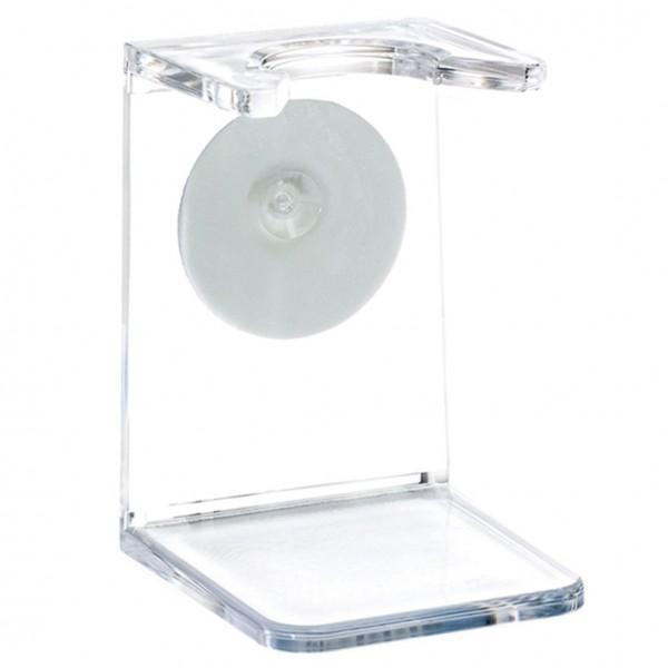 Halter für nom Rasierpinsel, transparent