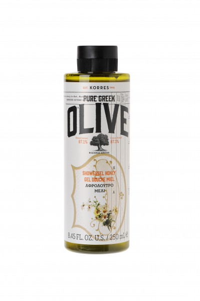 Olive & Honey Shower Gel