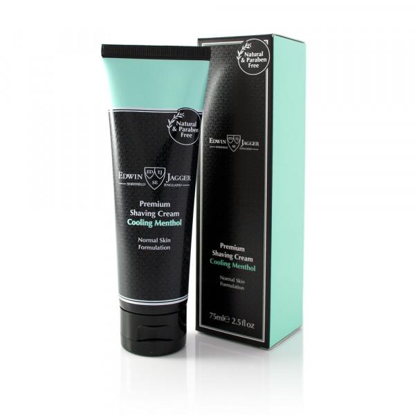 Premium Shaving Cream Tube Cooling Menthol