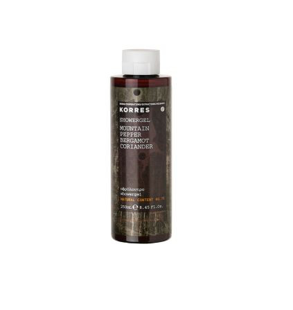 Mountain Pepper Bergamot Coriander Shower Gel