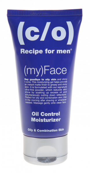 (c/o) Recipe for men (my)Face Oil Control Moisturizer