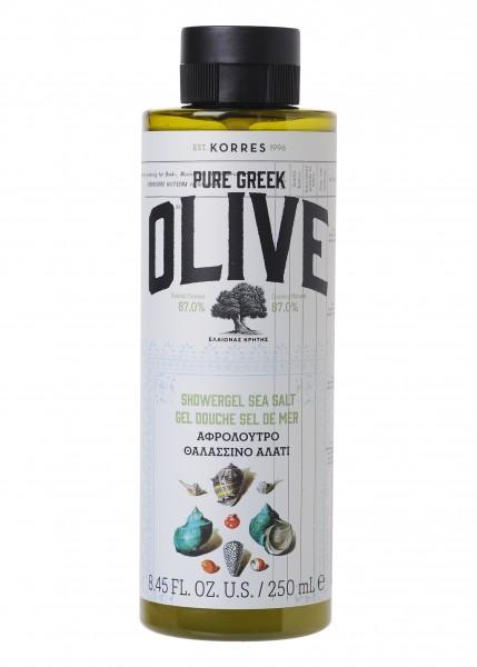 Korres Olive & Sea Salt Showergel