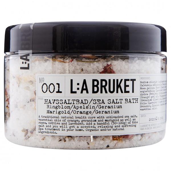 No. 001 Bath Salt Marigold/Orange/Geranium