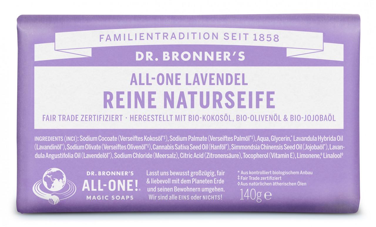 Dr. Bronner´s - Barsoap Lavender | Körper
