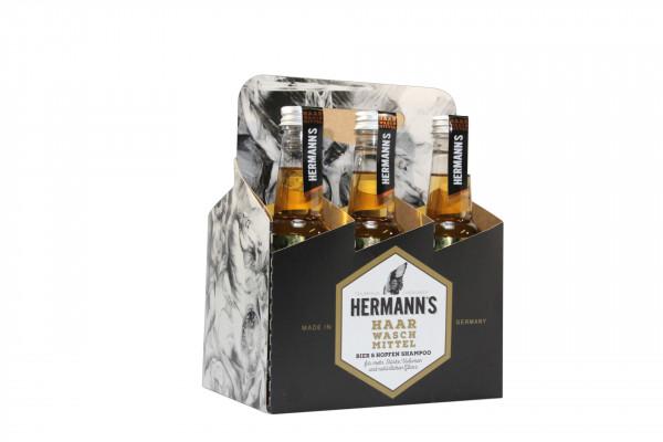 Bier & Hopfenshampoo Sixpack