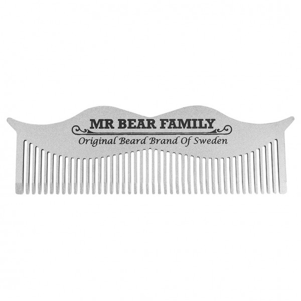 Moustache Steel Comb