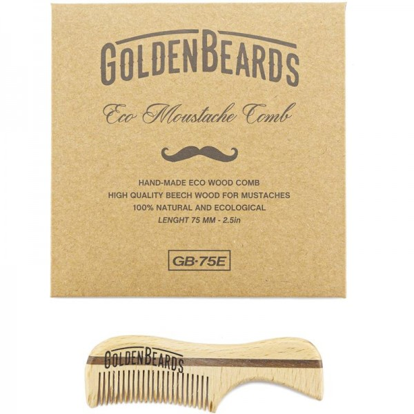 Eco Moustache Comb