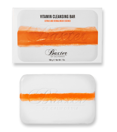 Baxter of California Vitamin Cleansing Bar Citrus and Herbal Musk