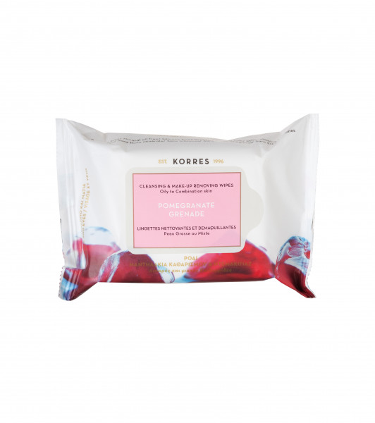 Pomegranate Grenade Cleansing & Make-up Removing Wipes