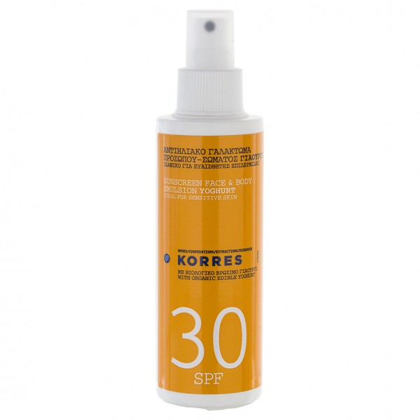 Sunscreen Face & Body Emulsion Yoghurt SPF 30