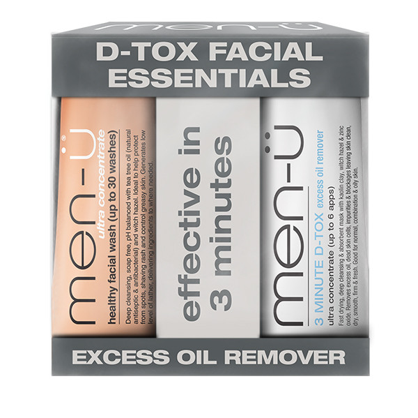 men-ü D-Tox Facial Essentials