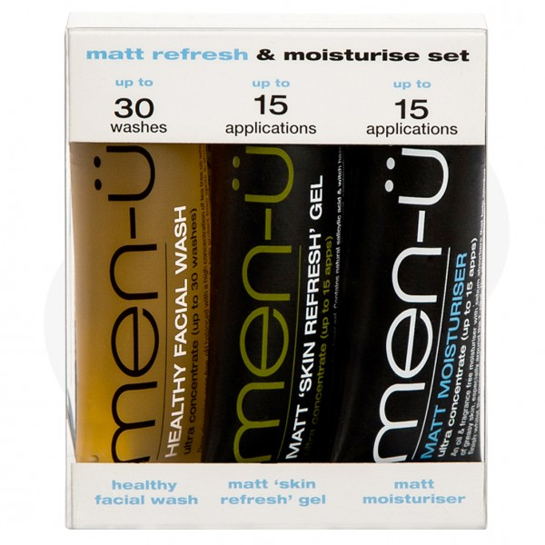 Matt Refresh & Moisturise Set