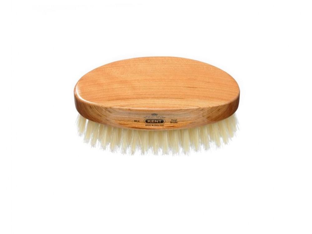 Vorschaubild von KENT - Ovale Herren Haarbürste aus Kirschholz | Haarbürsten