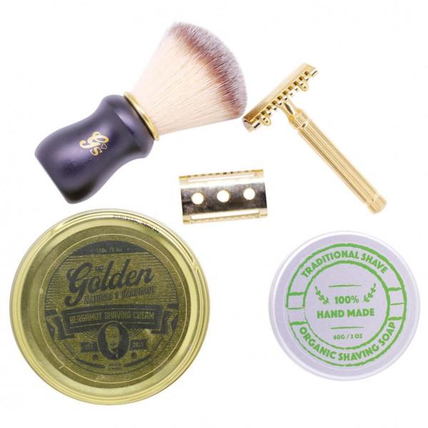 Golden Shaving Kit