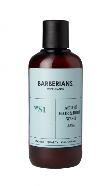 Barberians Active Hair & Body Wash