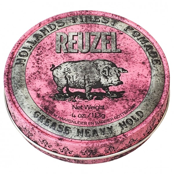 Heavy Hold Grease Pomade Pink Medium