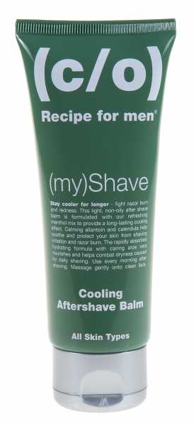 (c/o) Recipe for men (my)Shave Cooling Aftershave Balm