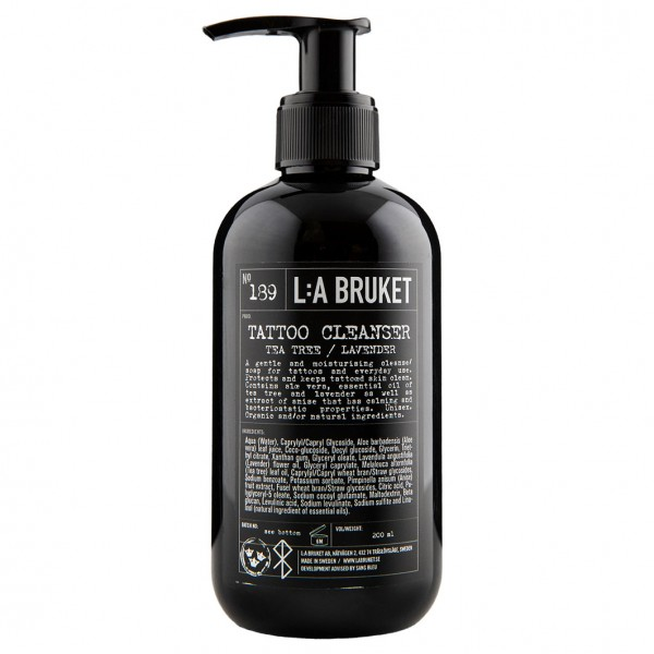 No. 189 Tattoo Cleanser Lime/Teatree/Mint 200 ml