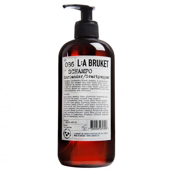 No. 086 Shampoo Coriander/Black Pepper 450 ml