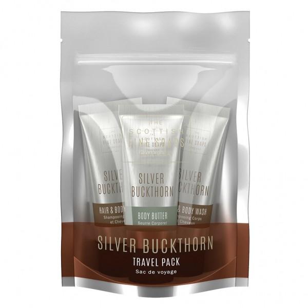 Scottish Fine Soaps Silver Buckthorn Travel Pack