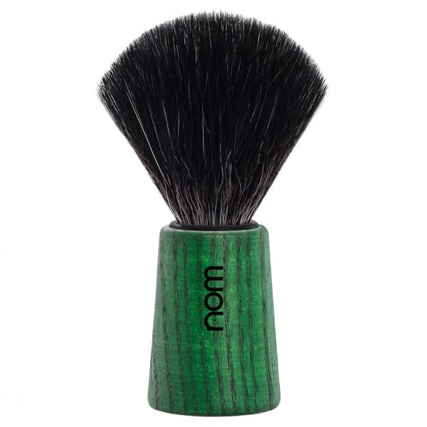 Rasierpinsel THEO Black Fibre Green Ash