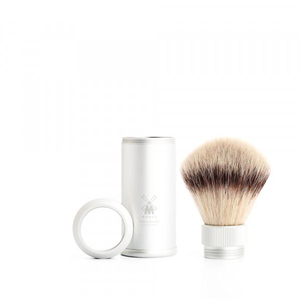 TRAVEL Reiserasierpinsel Silvertip Fibres© white