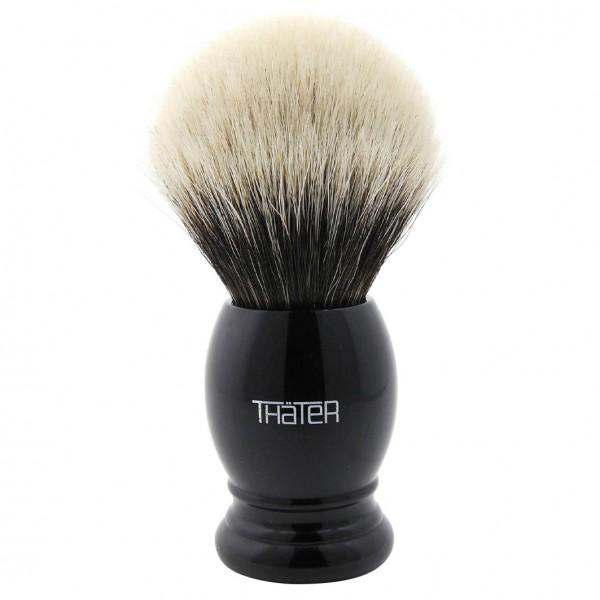 Rasierpinsel Silberspitze 3 Band 4292-6 Schwarz