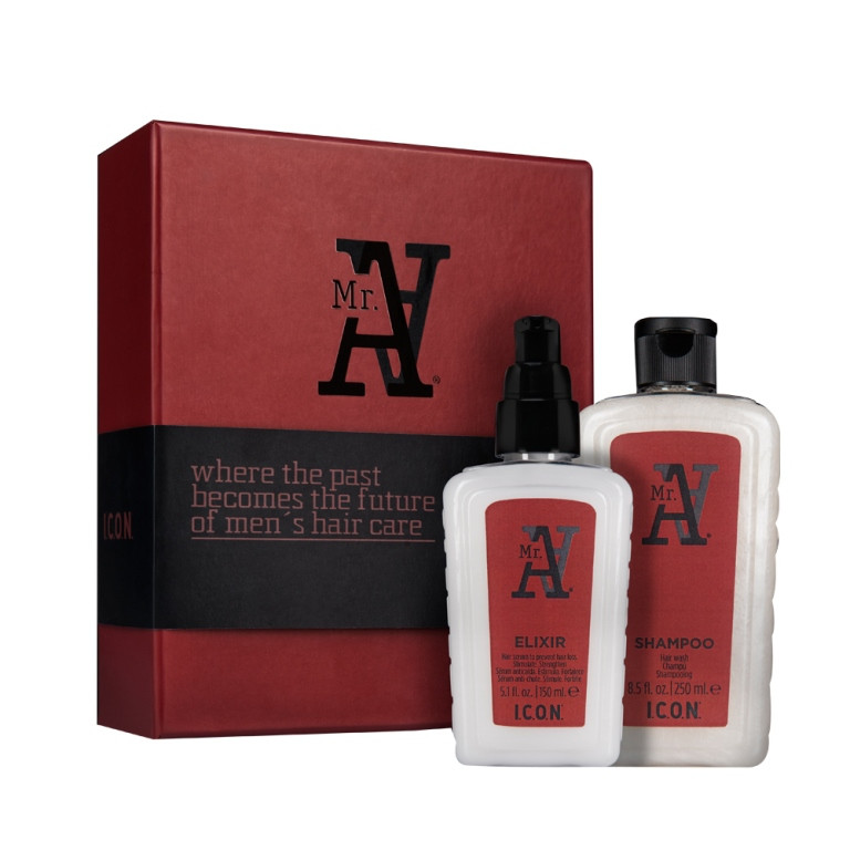 I.C.O.N. MR. A ´´Anti Hair Loss Set´´ Haarpflegeset