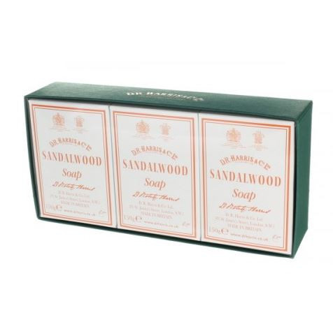 Sandalwood Bath Soap Box of 3