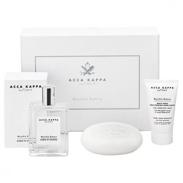 Muschio Bianco Gift Set Eau de Cologne, Soap & Hand Cream