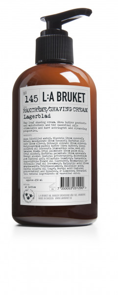 No. 145 Shaving Cream Lagerblad von L:A Bruket