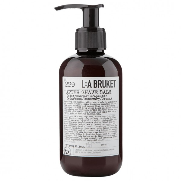 No. 229 After Shave Balm 190 ml