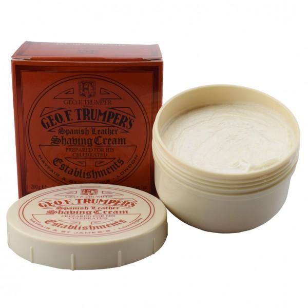 Spanish Leather Shaving Cream Plastic Bowl
