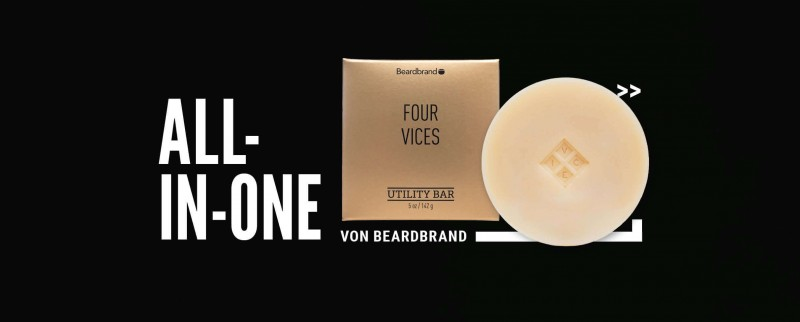 Beardbrand Vour Vices Bart Seife