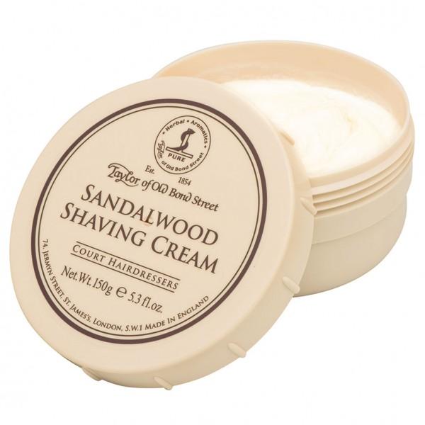 Sandalwood Shaving Cream Bowl 150g