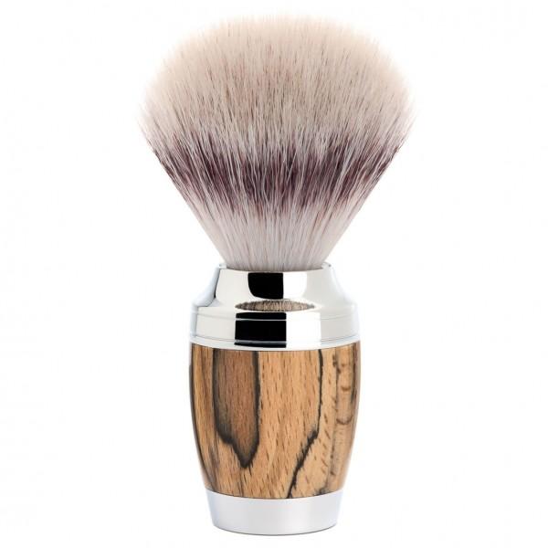 Stylo Rasierpinsel, Silvertip Fibre®, Griff Gestockte Buche