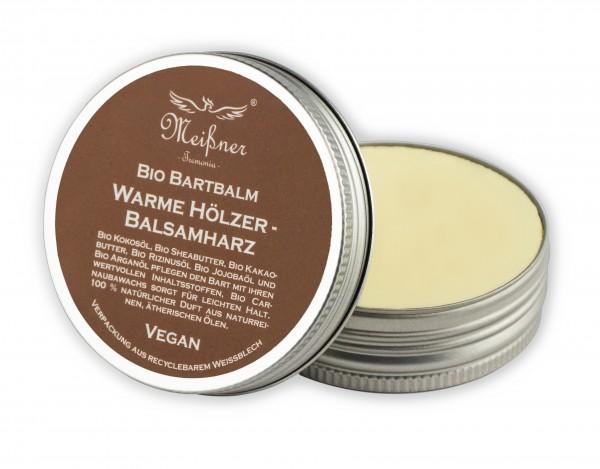Meißner Tremonia Bio Bart-Balm Warme Hölzer - Balsamharz