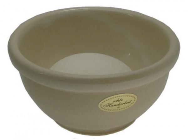Keramik Rasierschale - weiß
