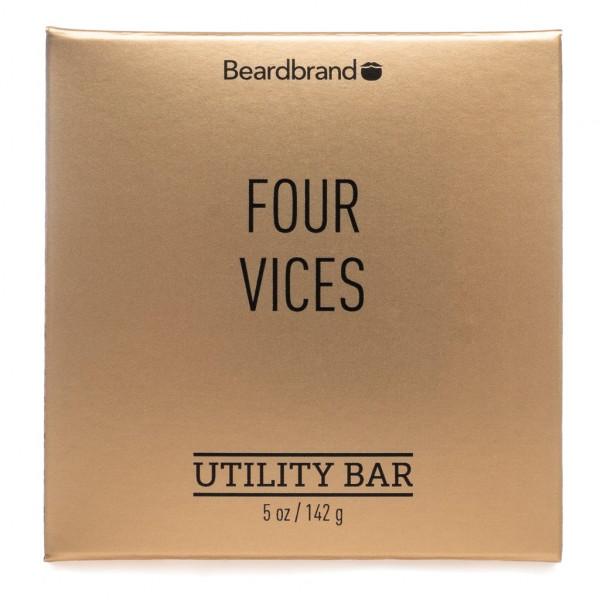 beardbrand Utility Bar Four Vices