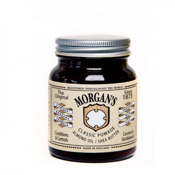 Morgan's Pomade Classic Pomade Almond Oil + Shea Butter