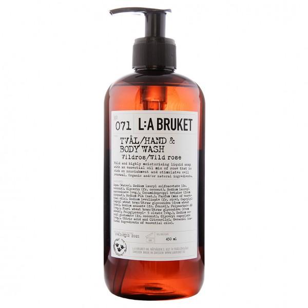 No. 071 Liquid Soap Wild Rose 450 ml