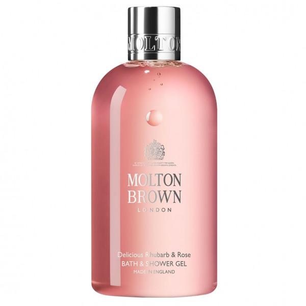 Delicious Rhubarb & Rose Bath & Shower Gel 300 ml