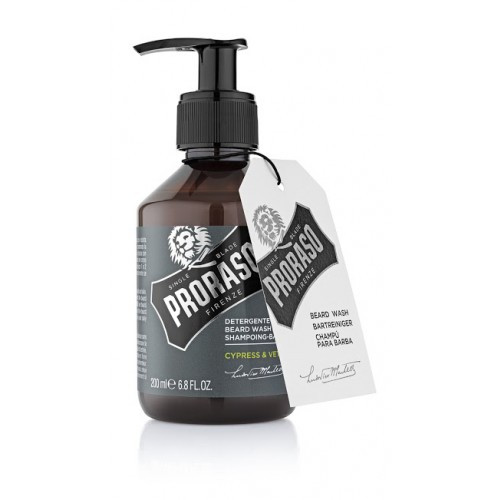 Beard Wash Cypress & Vetyver Proraso