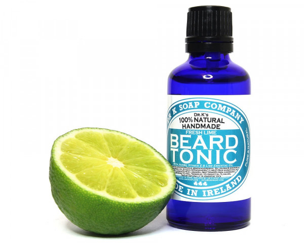 DR K Soap Company Fresh Lime Beard Tonic