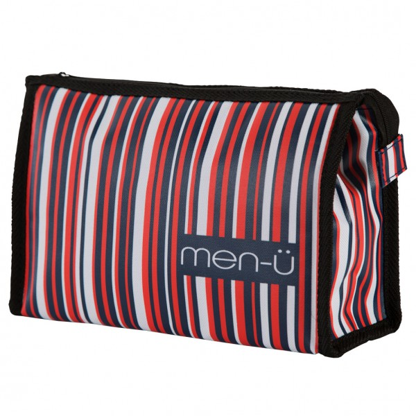 Toiletry Bag Blue Red White