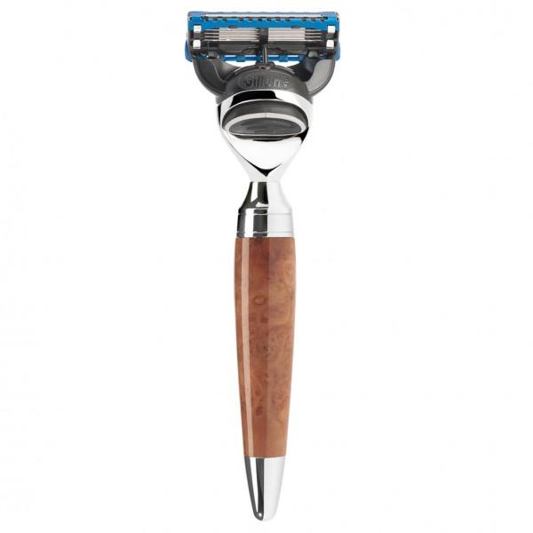 STYLO 5-Klingen-Rasierer Fusion® Griff Thuja-Holz